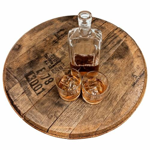 Bourbon Barrel Lazy Susan