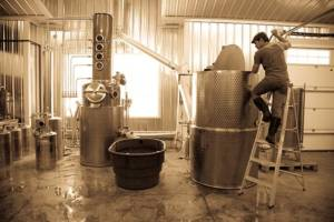distillery whiskeymade barrel heads