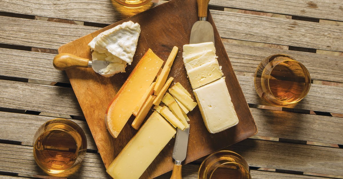 whiskey and cheese pairings