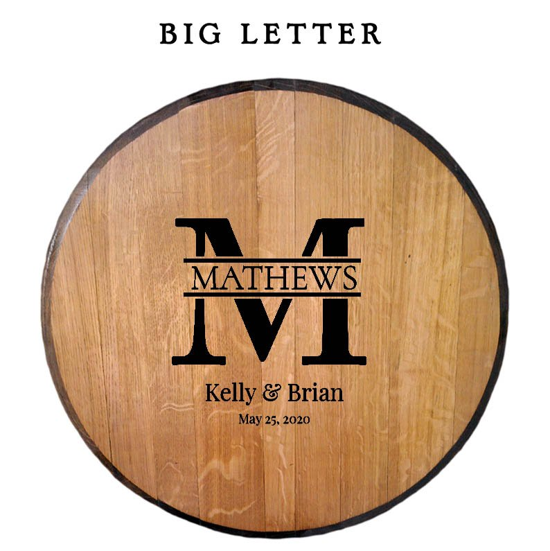 Big Letter Template - Whiskeymade