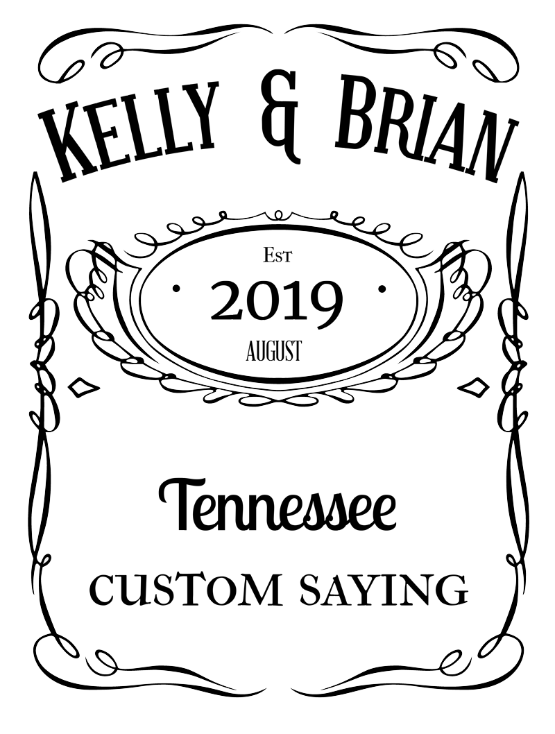 Country Wedding Guestbook
