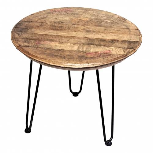 Bourbon Barrel Table