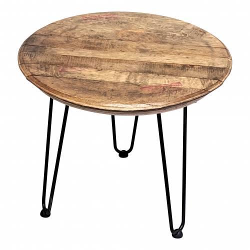 Bourbon Barrel Table