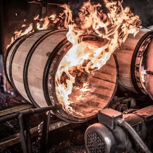 Made from Bourbon Barrels