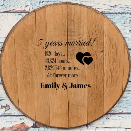 Wooden Anniversary