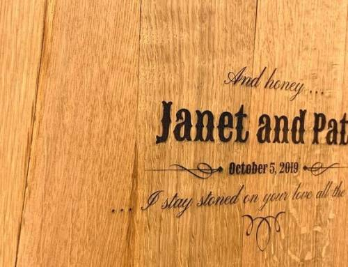 Western Wedding Ideas – Real Whiskey Barrel Engraved Designs