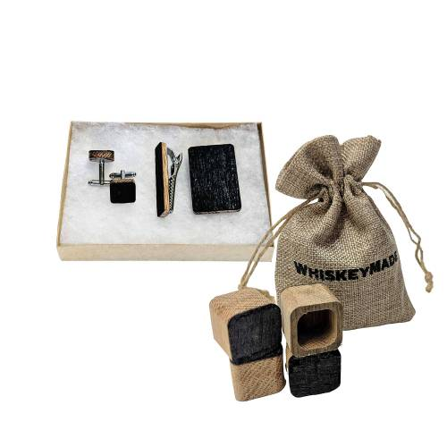 Whiskey Groomsmen Gift Set